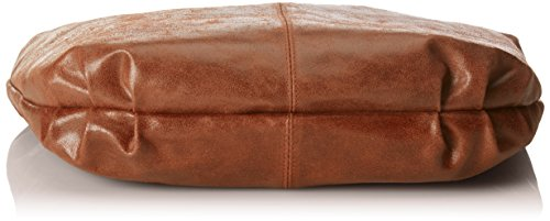 Marron 45x35x4cm cuir cuir véritable Femmes in en sac Sac Marrone Italy 100 bandoulière CTM Made BXxnHqOwYB