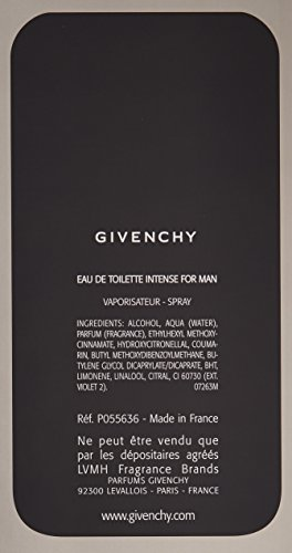 Givenchy Play Intense by Givenchy for Men - 3.3 Ounce EDT Spray