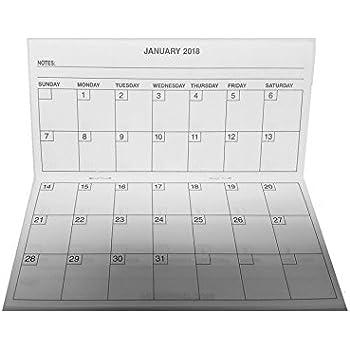 Amazon.com : Pack of 2 - 2 Year Pocket Calendar, 2017-2018, Fits ...