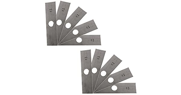 Amazon.com: 10 Pack – EE. UU. Cuchilla Recortadora Blade sin ...