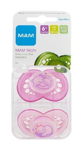 Amazon.com: MAM noche brilla en la oscuridad de la silicona ...