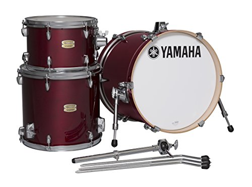 Yamaha Stage Custom Birch 3pc Bop Drum Shell Pack - 18' Kick, Cranberry Red