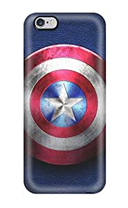 Awesome Case Cover/iphone 6 Plus Defender Case Cover(captain America)