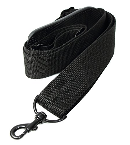 Made In USA Black Poly Webbing Replacement Travel Luggage Bag Strap 1.5