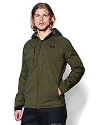 Under Armour Men\'s Storm Bacca Softershell, Greenhead/Black, Large