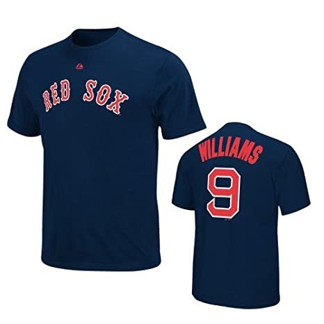 Sports Fan Apparel & Souvenirs sports memorabilia Majestic Authentic Youth Boston Red Sox Baseball Short Sleeve T-Shirt NAVY NEW