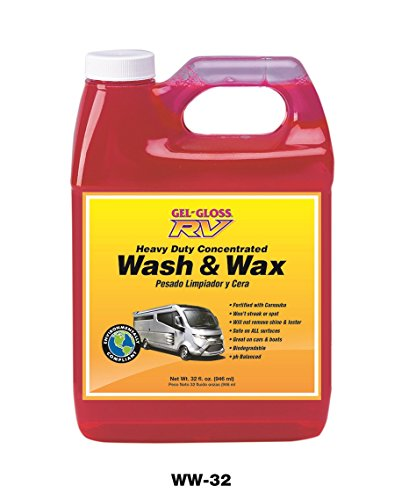 Gel-Gloss RV Wash and Wax - 32 oz.