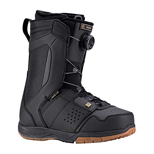 Ride Mens Snowboard Boots - Ride Jackson Boa Coiler Snowboard Boots 2019-8.0/Black