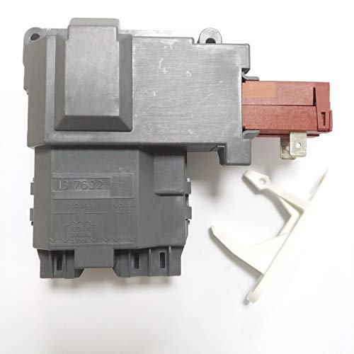 1317632 Door Lock Switch Assembly & 1317633 Door Strike for Electrolux Frigidaire White-Westinghouse Crosley GE Gibson Front Loader Washer. Replace Part Number 131763256 & 131763310