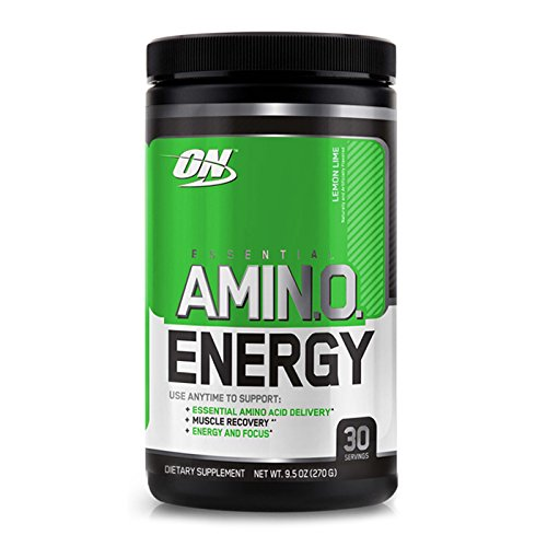 Optimum Nutrition Amino Energy with Green Tea and Green Coffee Extract, Flavor: Concord Grape, 65 Servings by Optimum Nutrition