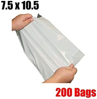 100 19X24 M8 WHITE POLY MAILERS SHIPPING ENVELOPES PLASTIC BAGS 100#M8
