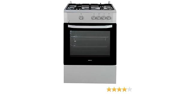 Beko CSG 62000 DXL - Cocina (Independiente, Acero inoxidable ...