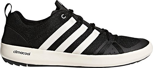 adidas outdoor Climacool Boat Lace Shoe - Men's Black/Chalk White/Black, 9.0