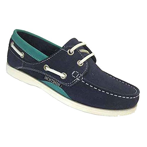 Sizes Deck Indigo UK Seafarer 4 Boat Nubuck Leather 8 Ladies Shoes 8 Yachtsman Jade 40XwB