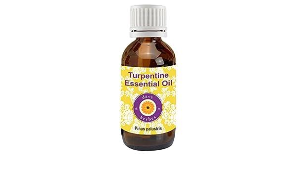 Aceite esencial de trementina (Pinus palustris) Dève Herbes - 100 % natural, de grado terapéutico: Amazon.es: Belleza