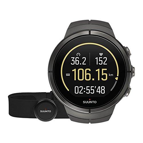 SUUNTO(スント) Spartan Ultra HR (スパルタン ウルトラ エイチアール) ハイエンドモデル ランニング GPS搭載 ステルス チタン ハートレート有り [並行輸入品] B01I05BZA0