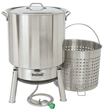 Bayou Classic KDS-182 Bayou 82qt. Boiler (Best Way To Cook Crawfish)