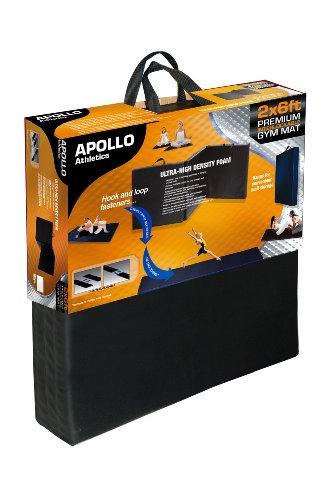 - Apollo Athletics Foldable Mat, 6-Feet x 2-Feet x 1-Inch