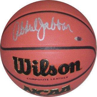 Kareem Abdul-Jabbar Signed Autograph Wilson NCAA IndoorOutdoor Replica Game  Basketball - Authentic Autograph f8d51ceb3