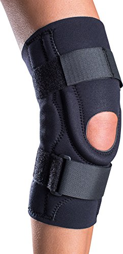 DonJoy Performer Hinged Patella Stabilizer Knee Brace, Neoprene, Medium