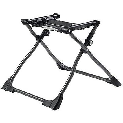 Peg-Pérego Bassinet Stand - Base de apoyo para capazo, color negro