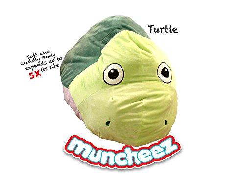 Muncheez Stuffed Animal Toy Organizer for Children, Turtle
