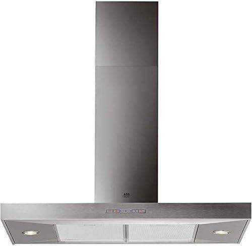 AEG DD8695M silver 570 m³/h De pared Plata - Campana (570 m³/h, Recirculación, 63 dB, De pared, Plata, 20 W): Amazon.es: Hogar