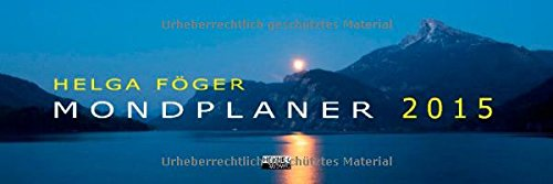 Mondplaner 2015 Tischkalender: Tischplaner
