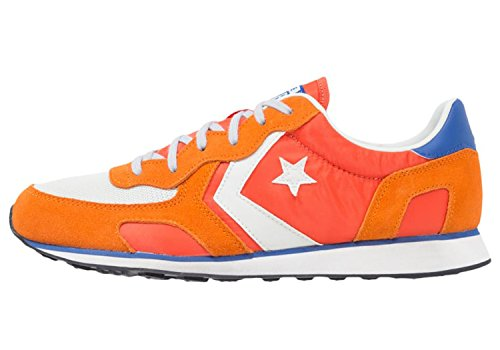 Converse - Converse Auckland Racer Distressed Ox Scarpe Uomo Arancio My Van Is On Fire, Arancio, Arancio Bianco