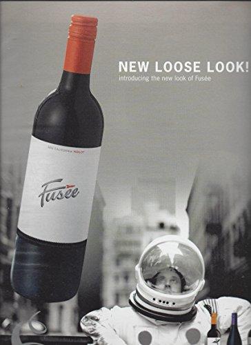 2003 Merlot Wine - Magazine PRINT AD For Fusee 2003 Merlot Wines: Astronaut Scene
