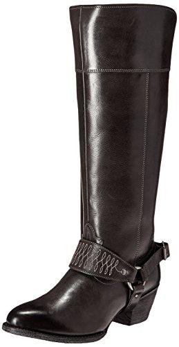 Ariat Women's Sadler Western Fashion Boot, Old West Black, 5.5 B US