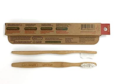 Ultra Soft Adult SenzaBamboo Eco-friendly Toothbrush