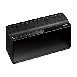 APC UPS, 600VA UPS Battery Backup & Surge Protector, BE600M1 Backup Battery Power Supply, USB Charger, Back-UPS Series…