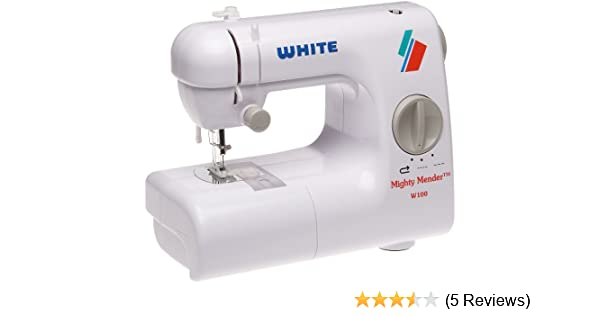 Amazon White W40 Mighty Mender Lightweight Portable Compact Awesome Review Ikea Sewing Machine