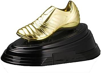Trofeo Bota de Oro PACK de 2 de 13x26cm GRABADO Trofeos PERSONALIZADOS Trofeos Deportivos Trofeos de Futbol: Amazon.es: Deportes y aire libre
