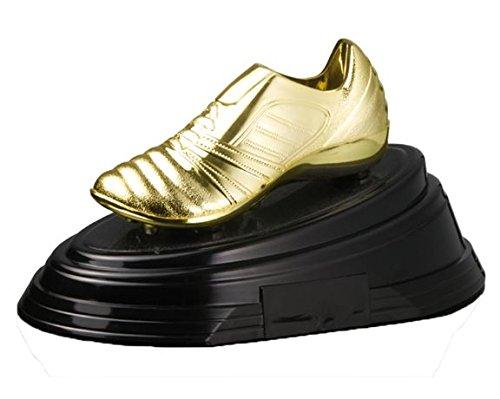 Trofeo Bota de Oro PACK de 3 de 13x26cm GRABADO Trofeos PERSONALIZADOS Trofeos Deportivos Trofeos de Futbol Trofesport