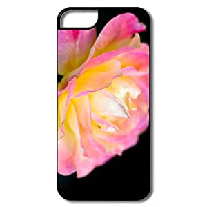 Design Macro Pink Rose Cover For Iphone 5 5S