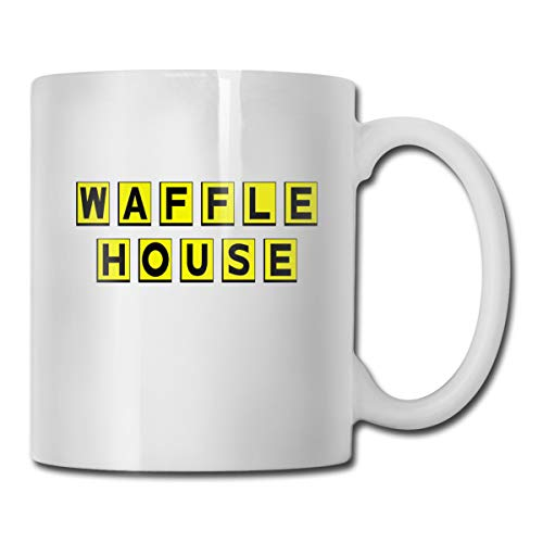 Used, Waffle House Cups Funny Mug Novelty Ceramic Gift Coffee for sale  Delivered anywhere in USA