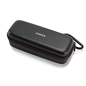 Anker SoundCore & SoundCore 2 Official Travel Case - PU Leather Premium Bluetooth Speaker Protection Carry Case