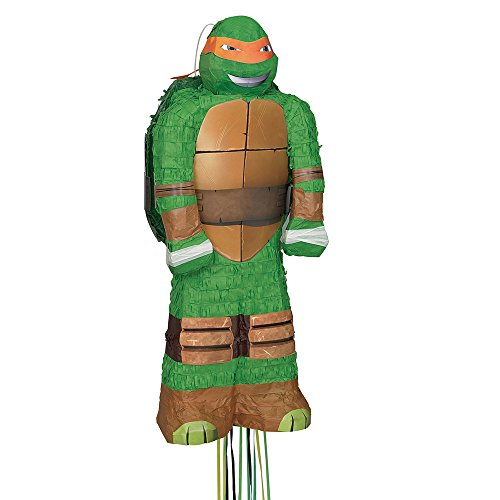 Michelangelo Teenage Mutant Ninja Turtles Pinata, Pull