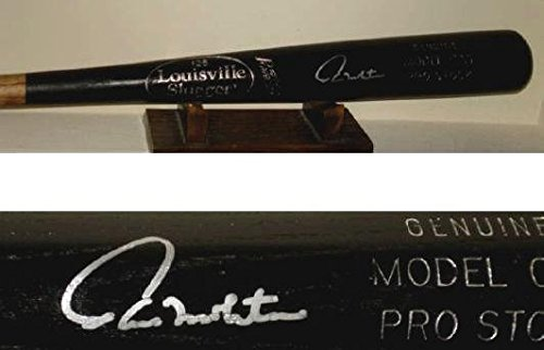 Paul Molitor Autographed Baseball - Autographed Paul Molitor Baseball Bat - HOF W PROOF! - Spring Training Used ! - Autographed MLB Bats
