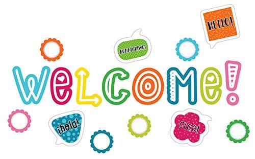 Carson Dellosa School Pop Welcome Mini Bulletin Board Set (110333)