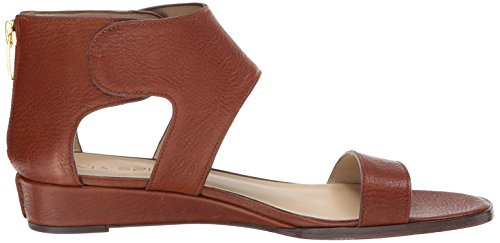Via Spiga Womens Vadina Wedge Sandal Russet
