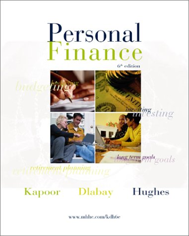 personal finance 5th edition kapoor pdf