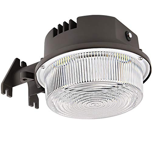 70W 9800LM LED Barn Lights Dusk to Dawn Outdoor Area Lights with Photocell BBOUNDER (700W Incandescent Equiv.) 5000K Daylight Waterproof ETL&DLC Listed for Yard Street Flood Lights