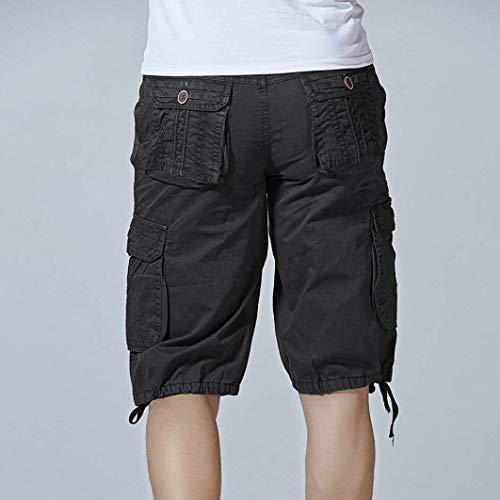 Chándal Pantalones Cortos Hombre De Cliché Ropa Corto Cortos Pantalón Pantalones En Cortos Carga Verano Pantalones Bermudas Pantalón Casuales Básicos Para Carga Pantalones De Negro Corto Hombres Sudor De fSwq775