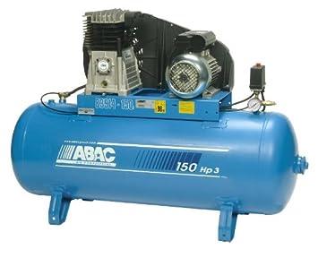 ABAC B3914/150 - Compresor de aire (3 CV, 150 l): Amazon.es: Bricolaje y herramientas