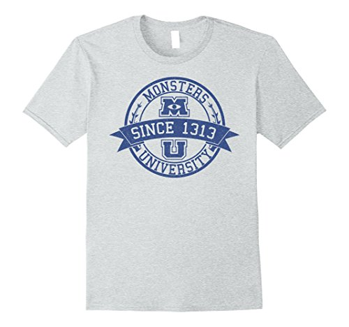 Monsters University Shirt (Mens Disney Monsters University Since 1313 Graphic T-Shirt Large Heather Grey)
