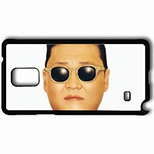 Personalized Samsung Note 4 Cell phone Case/Cover Skin 2013 gangnam style by godpro dshoi Black