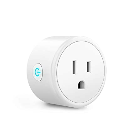 WiFi Smart Plug - Smart Outlets Work With Alexa, Google Home & IFTTT,  Aoycocr Remote Control Plugs with Timer Function,ETL/FCC/Rohs Listed  Socket,